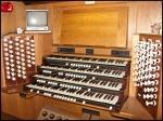 Carlisle Cathedral organ console