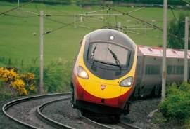 Tilting train near Penrith