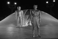 Gort and Klaatu (Mr Carpenter)