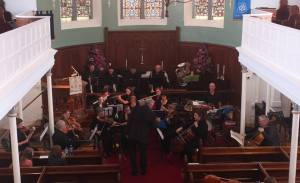 Irish Midlands Chamber Orchestra in St Peter's