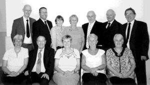 Some of the Monkhouse cousins in 2011. John RIP front row second from the left.