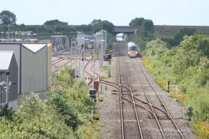 Laois Traincare Depot, Portlaoise (copyright Peter Wilkins)