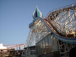 Blackpool Pleasure Beach. Bliss!